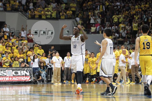 NU coach Eric Altamirano on Aroga's game-winning jumper: 'A shot that is all heart'