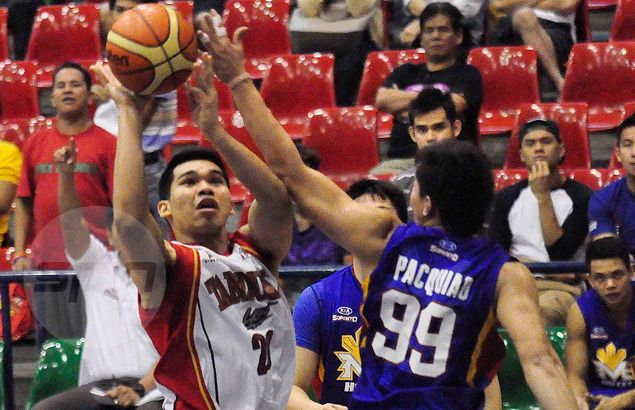Former UST Tiger Aljon Mariano on track in reviving career with Tanduay in D-League
