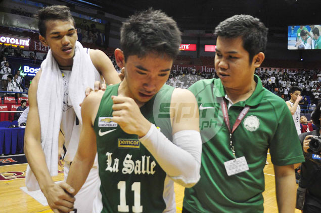 Aljun Melecio holds head high after checkered DLS-Zobel career ends on losing note
