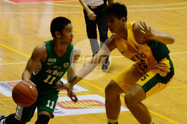 Aljun Melecio says Aldin Ayo arrival a major factor in decision to commit to La Salle
