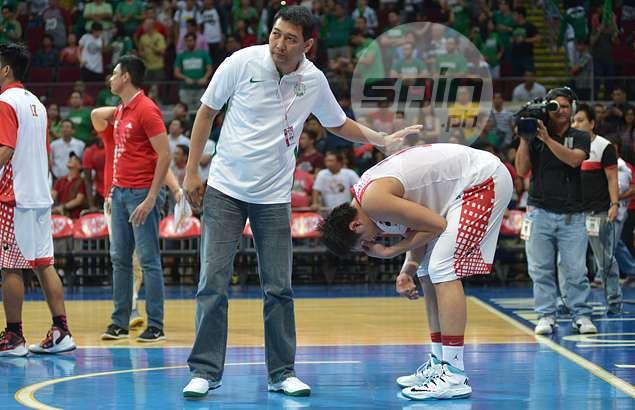La Salle star Jason Perkins' jersey tribute to Allan Caidic fails to translate into hot shooting
