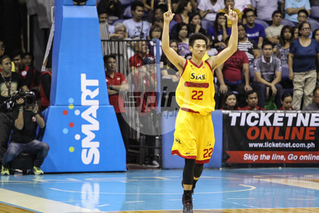 After reviving Star hopes, hot-shooting Allein Maliksi earns first-ever Player of the Week citation