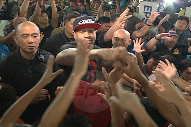 Small wonder that Filipino fans adore Allen Iverson: 'I represent all short people'