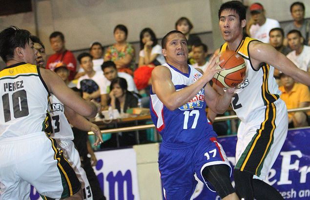 Gem of a performance from Vosotros helps Cebuana Lhuilier snap out of D-League skid