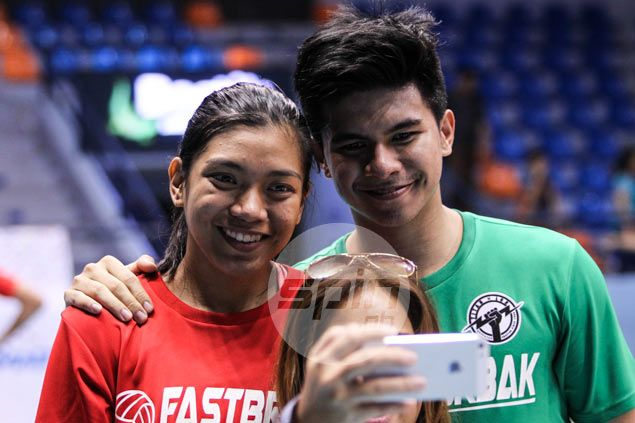 Alyssa Valdez, Kiefer Ravena finally come out in the open, admit they're in a relationship