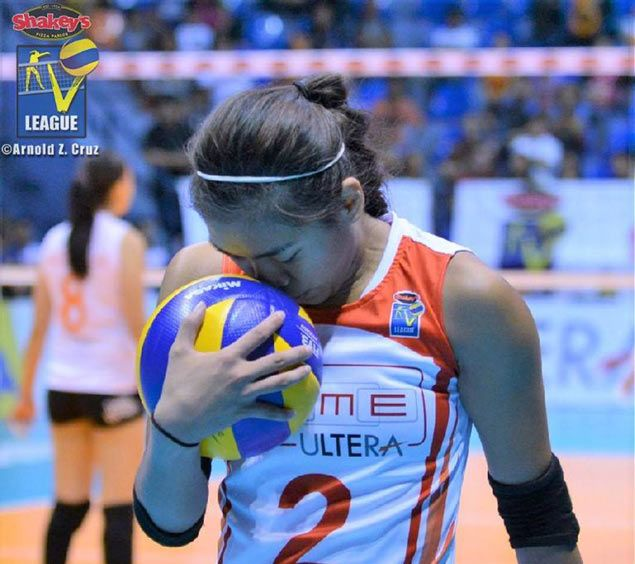 Volleyball phenom Alyssa Valdez happy to be back 'home' in V-League Finals