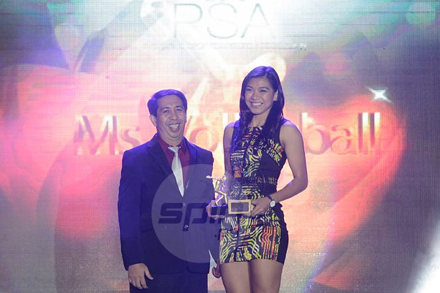 Ms. Volleyball Alyssa Valdez says award both an honor and responsibility