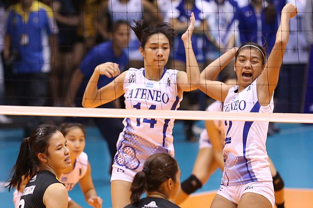 Ateneo Lady Eagles dispose of UST Tigresses to reach V-League finals vs NU