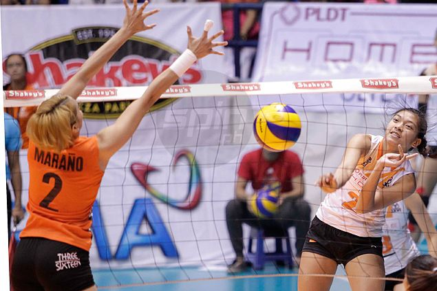 PLDT made to sweat by Meralco but manages to preserve unblemished slate ahead of V-League finals
