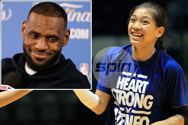 Alyssa Valdez heartbroken for failing to see idol Lebron James up close and personal