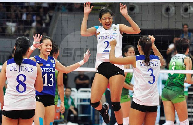 New UAAP women's volleyball scoring leader Alyssa Valdez pays tribute to her high school coaches