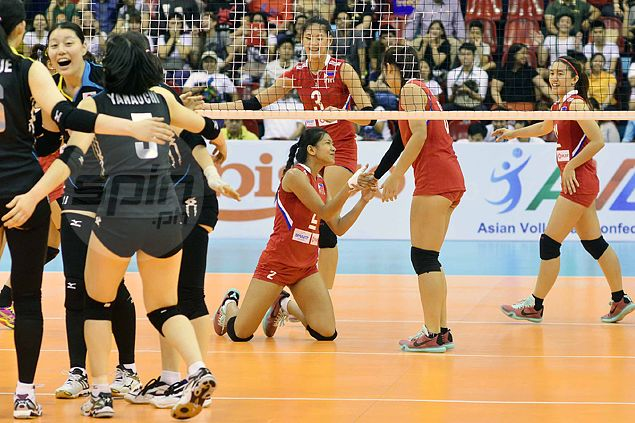 Japan proves too strong for Philippine team in Asian Under-23 women's volleyball