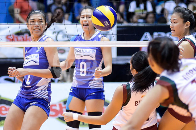 Alyssa Valdez delivers winner in V-League debut as Bali Pure survives scare from UP