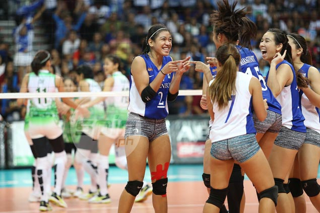 Ateneo Lady Eagles score vengeful win over La Salle, clinch top seeding in UAAP playoffs