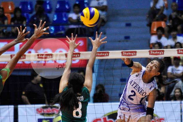 Undermanned Ateneo Lady Eagles still prove too much for La Salle-Dasma in V-League