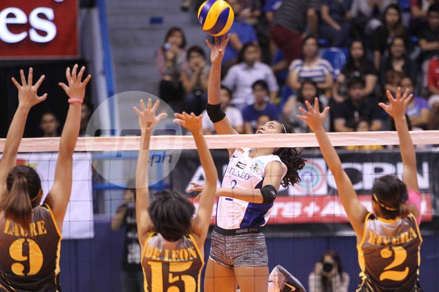 Ateneo Lady Eagles run win streak to 20 games after four-set win over UST Tigresses