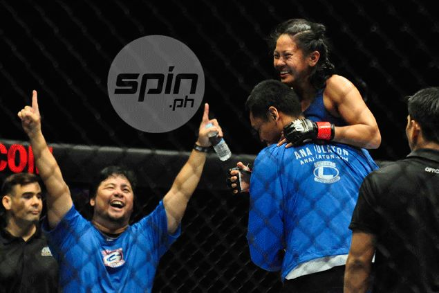 Fil-Am Ana Julaton sticks to her strengths to beat bigger Egyptian foe in One FC