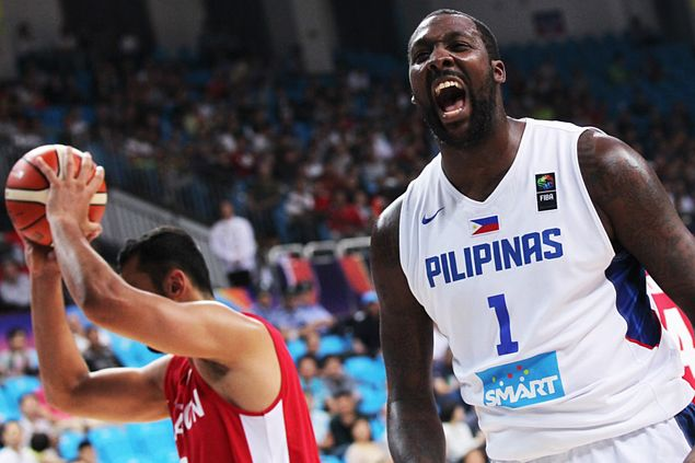 Resolute Gilas center Andray Blatche says hostile China crowd 'only fired me up'
