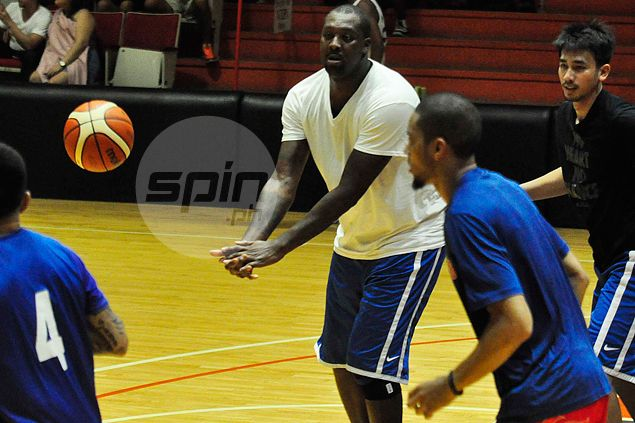 Andray Blatche gains weight but assures he'll be back in shape for Gilas mission