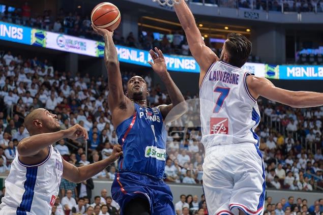 Andray Blatche rues Gilas lost discipline late in loss to France: 'We became selfish'