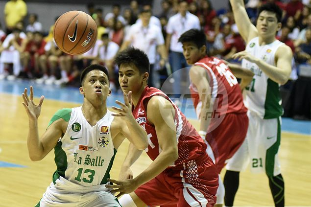 La Salle hotshot Andrei Caracut says it's much too early to talk about Rookie of the Year award