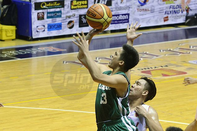 Green Archer Andrei Caracut shows hot shooting is no fluke with big game against Lyceum