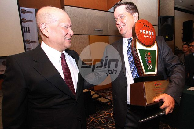 SMC big boss Ramon Ang pays Tim Cone ultimate compliment: 'You're the best coach I've ever seen'