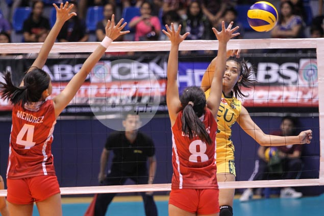 FEU Lady Tams buck Pons absence, extend UE's losing streak to 47 in UAAP volleyball