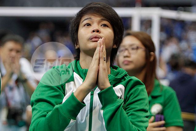 La Salle star spiker Ara Galang says she's '90 percent ready' for new UAAP season