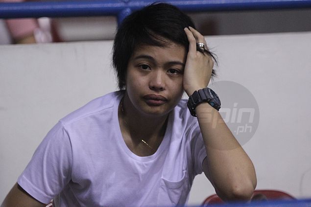 De Jesus says La Salle won't play Ara Galang this season unless she's back to 100 percent
