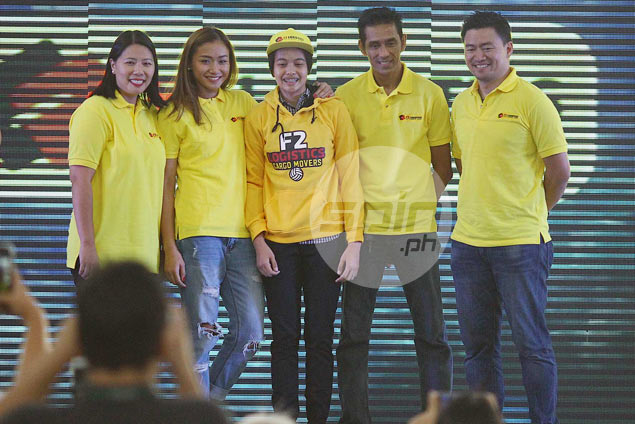 Ara Galang reunites with La Salle teammates as F2 Logistics' No. 1 pick overall in PSL Rookie Draft