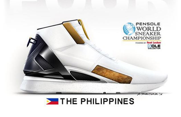 Pinoy architect Archie Tolentino enters Final Four of 2016 World Sneaker Championships