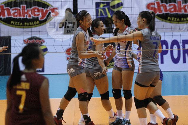 Arellano makes short work of newcomer PUP as Lady Chiefs win in straight sets