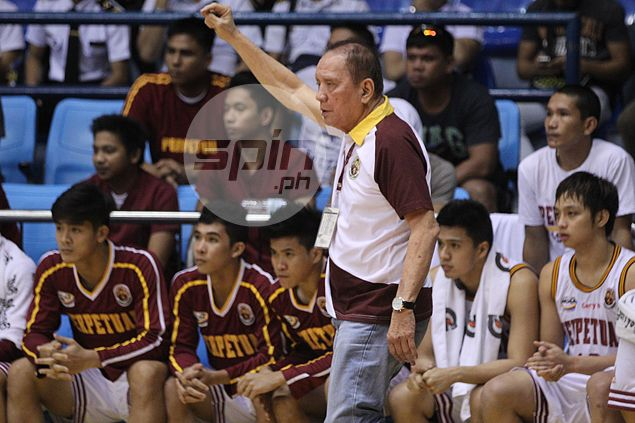'Tatay Aric' Del Rosario says he has mellowed, but don't tell that to erring referees