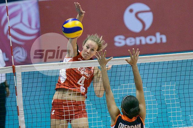 Ariel Usher super yet again as Cignal holds off Foton to stay perfect in Super Liga