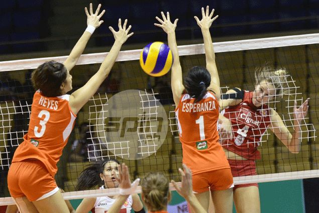 Inspired Ariel Usher powers Cignal to top as HD Spikers keep Meralco winless in PSL Grand Prix