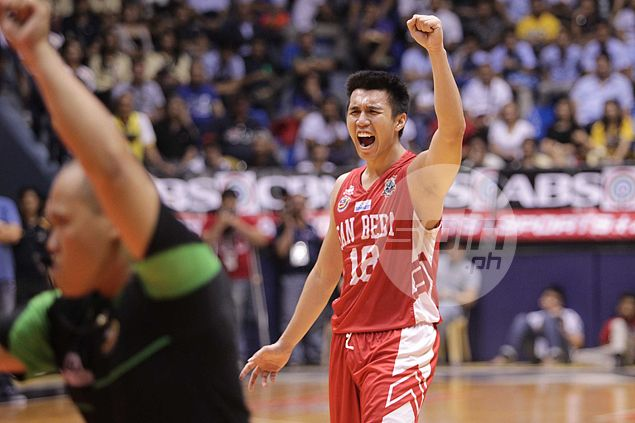 Father Art? If dad had his way, San Beda star dela Cruz would've been a priest and not a cager