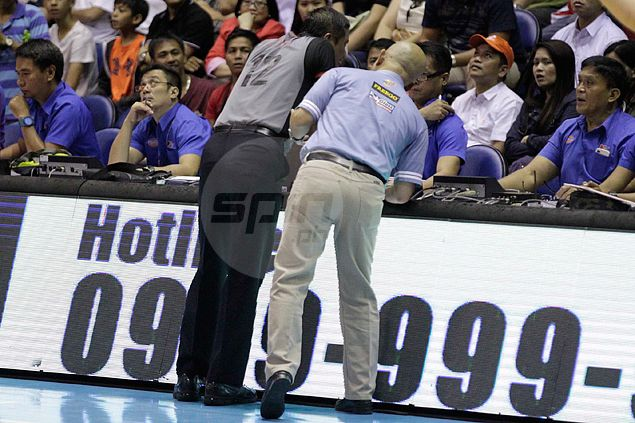 PBA referee suspended for 'error in judgment, mechanics' in nullifying Norwood three-pointer