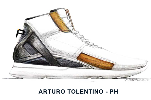 Pinoy architect Archie Tolentino makes top 16 of Pensole World Sneaker Championship