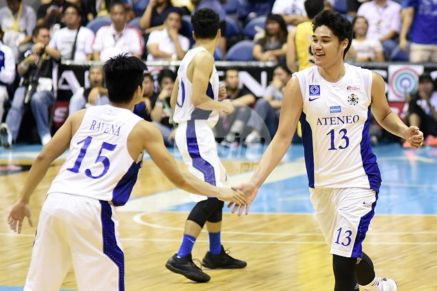 Arvin Tolentino finally lives up to billing, helps Ateneo cool down red-hot UST Tigers