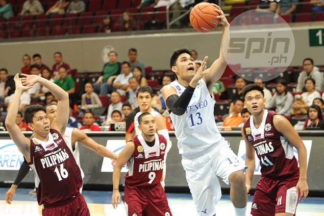 Mixed feelings for Blue Eagles forward Arvin Tolentino in return to San Beda campus