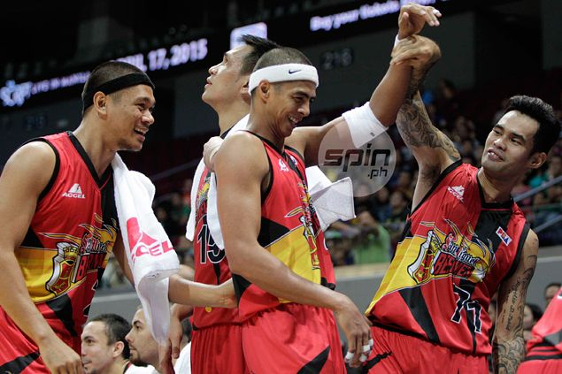 Red-hot San Miguel Beer turns Game One of PBA playoff against Talk 'N Text into a no-contest