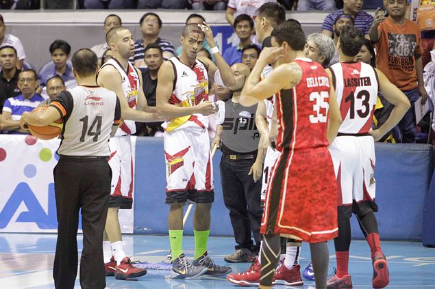 Calvin Abueva, Arwind Santos trade accusations after 'Rumble at the Big Dome'