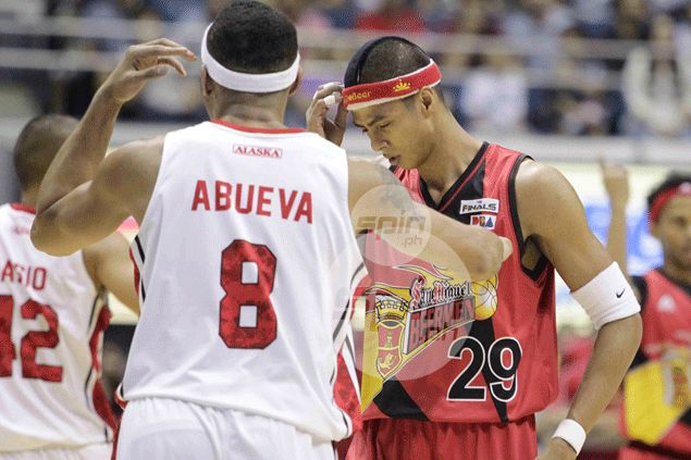 Stop the clashes and stick to basketball, benefactor tells Arwind Santos and Calvin Abueva