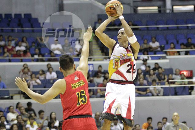 Arwind Santos letting game do the talking in bid to relive San Miguel glory days
