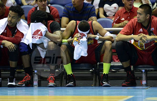 Leo Austria gagged, Arwind Santos at a loss as San Miguel off to ominous start