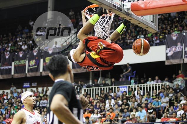Arwind Santos steals show as hot-shooting San Miguel proves too good for Ginebra