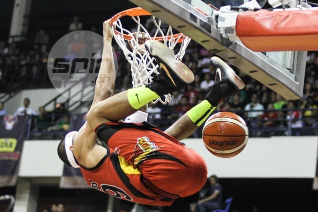 Arwind Santos says new twist to 'Spiderman dunk' his treat to the fans