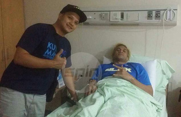NLEX big man Asi Taulava confined in hospital but vows to play on