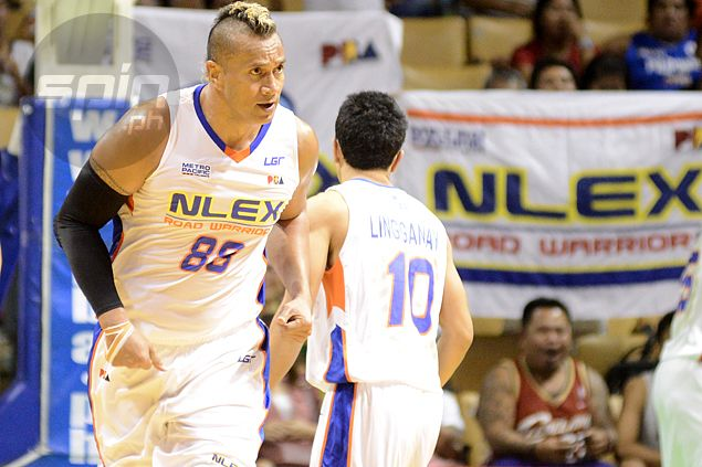 NLEX slotman Asi Taulava a giant road block as Ginebra fights for dear life